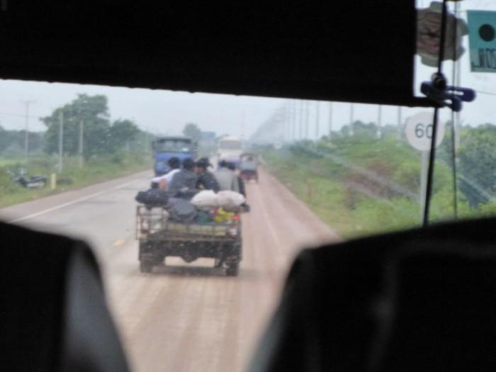 タイからカンボジアへ移動