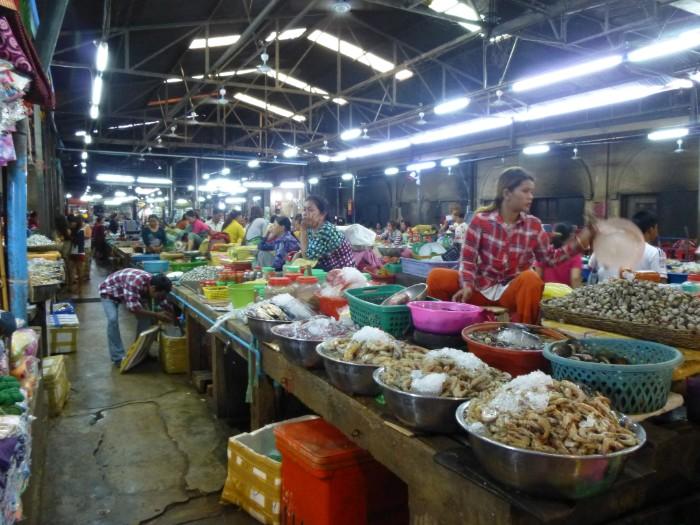 シェムリアップオールドマーケット