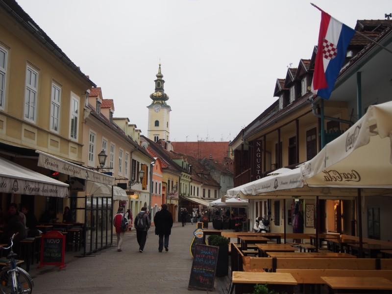 ザグレブの旧市街